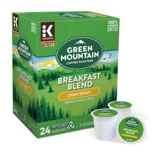 GREEN MOUNTAIN COFFEE ROASTERS Breakfast Blend Coffee 24 count