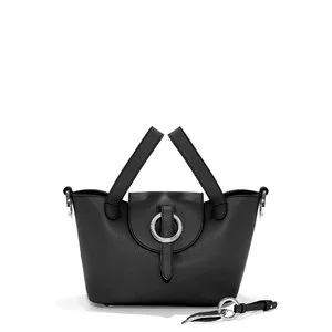 Rose Thela Mini   Shoulder Bag   Black