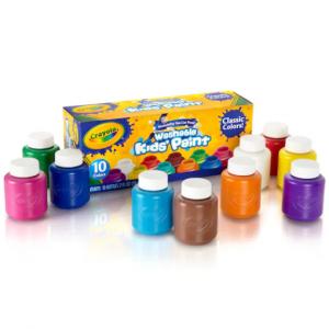 Crayola® 可水洗水彩颜料