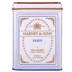 Harney & Sons, Paris Tea, 20 Tea Sachets, 1.4 oz (40 g)