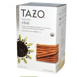 Tazo Teas, Organic Chai, Black Tea, 20 Filterbags, 1.9 oz (54 g)