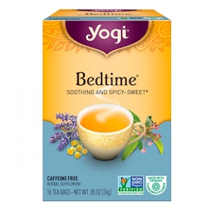 Yogi Tea, Bedtime, Caffeine Free, 16 Tea Bags, .85 oz (24 g)