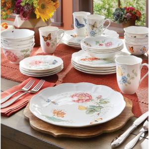 Butterfly Meadow Dinnerware on Sale @ Lenox