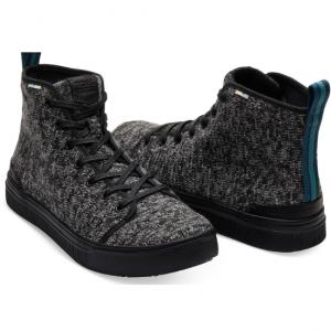 Black Melange Trvl Lite High Mens Sneaker
