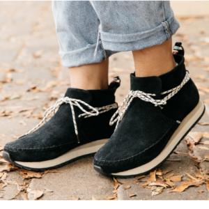 女士绒面革运动鞋