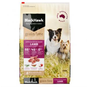 Black Hawk Adult Dog Food Grain Free Lamb 2.5kg