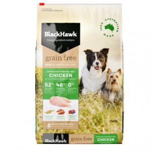 Black Hawk Adult Dog Food Grain Free Chicken 2.5kg