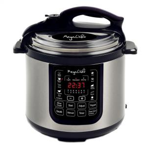 MegaChef 97099676M 8 Quart Digital Pressure Cooker with 13 Pre-set Multi Function Features