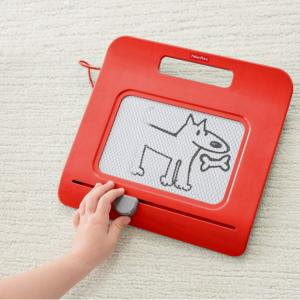 史低白菜價!【Amazon】Fisher-Price 磁石兒童寫字繪畫板 紅色款