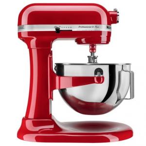 KitchenAid - KV25G0XER Professional 500 Series Stand Mixer - Empire Red