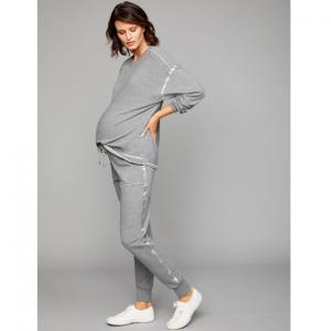 Splendid Under Belly Stripe Jogger Maternity Pant