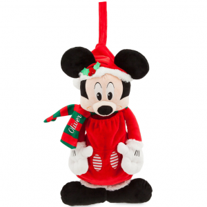 Santa Mickey Mouse Stocking - Personalizable