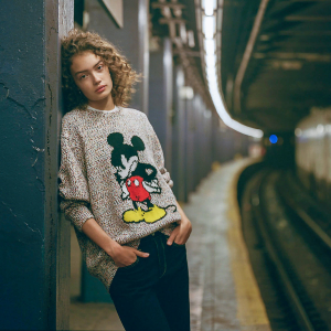 Mickey Mouse Haldon Sweater for Adults by rag & bone