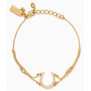 wild ones pave horseshoe bracelet