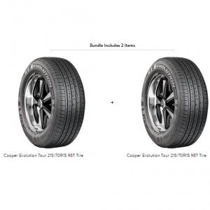 Cooper Evolution Tour 215/70R15 98T Tire
