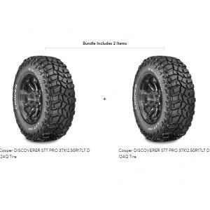 Cooper DISCOVERER STT PRO 37X12.50R17LT D 124Q Tire