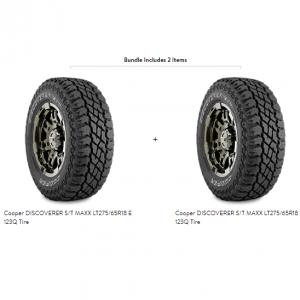Cooper DISCOVERER S/T MAXX LT275/65R18 E 123Q Tire