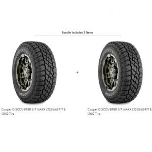 Cooper DISCOVERER S/T MAXX LT265/65R17 E 120Q Tire
