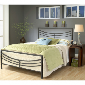 Hillsdale Furniture Kingston Bed, Queen, Brown