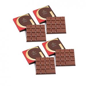G by Godiva Milk Chocolate Hazelnut Crisp Bar Gift Set, 4 Pc.