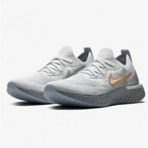 Nike Epic React Flyknit Metallic Premium 女士运动鞋