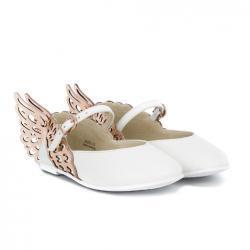 SOPHIA WEBSTER MINI Butterfly ballerina shoes
