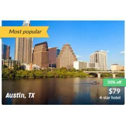 美國熱門城市4-5星酒店 超低價
