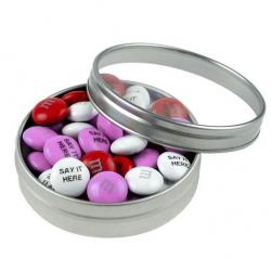 Silver Candy Tins