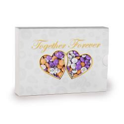 Together Forever Personalized Candy Gift Box Color Only