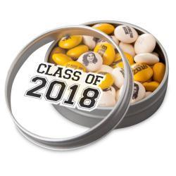 Class of 2018 Graduation Party Favor Tins Color Only