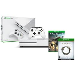 $90 off Xbox One S 500GB Console + Titanfall 2 + Elder Scrolls Online: Tamriel Unlimited