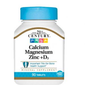 21st Century Calcium Magnesium Zinc +D3