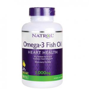 Natrol Omega-3 Fish Oil - Lemon