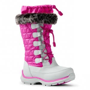 Girls Snowflake Winter Snow Boots