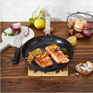 "T-Fal HeatMaster Sapphire-Infused Non-Stick 10"" Fry Pan"
