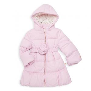 Kate Spade New York Little Girl's Rosette Puffer Down Jacket