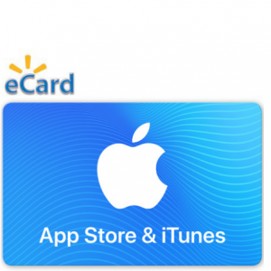 $40 ($10 OFF) For $50 App Store & iTunes Gift Card @ Walmart