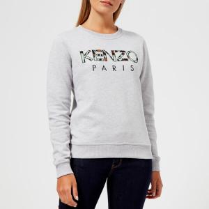 KENZO Women's Light Cotton Molleton Logo Sweatshirt