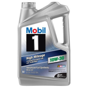 $19.97(value $24.47) for Mobil 1 10W-30 High Mileage Full Synthetic Motor Oil, 5 qt. @ Walmart