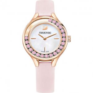 swarovski 玫瑰金镶钻腕表