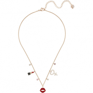 swarovski 红唇项链