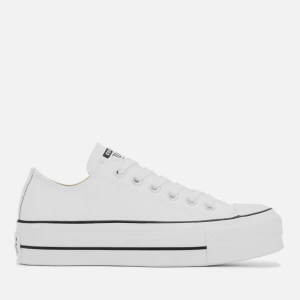 Converse Women's Chuck Taylor All Star Lift Clean Ox Trainers