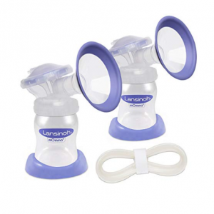The Extra Pumping Set, Lansinoh Pump Parts for On-the-Go Pumping Moms Compatible with any Lansinoh