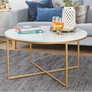 Coffee Table with X - Base - Saracina Home