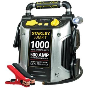 $24.87 off Stanley J5C09 1000 Peak Jump Starter with Air Compressor @ Walmart