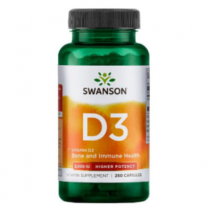 Swanson Premium Vitamin D-3 - Highest Potency