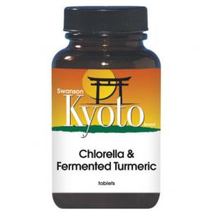 Swanson Kyoto Brand Chlorella & Fermented Turmeric