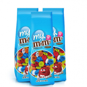 3 Personalized M&M'S® Candy Bags