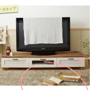 【大型】カントリー調テレビ台(大)