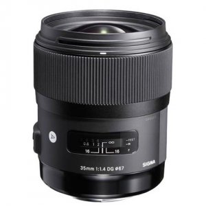Sigma 35mm f/1.4 DG HSM ART Lens @ B&H Photo Video